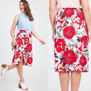 Cupcakes and Cashmere Side Slit Skirt
